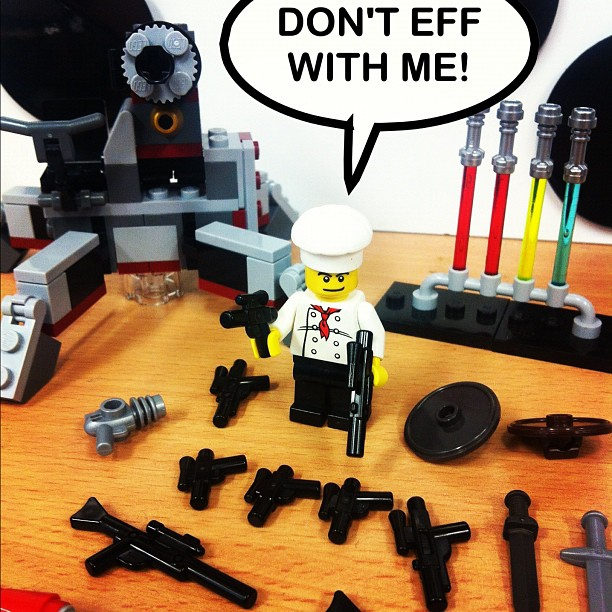 062-Don't EFF with Mr LegoChef