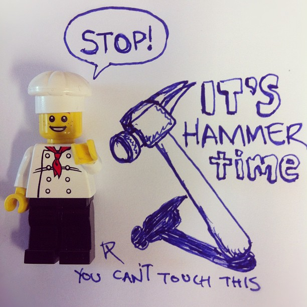 075-STOP! Hammer Time