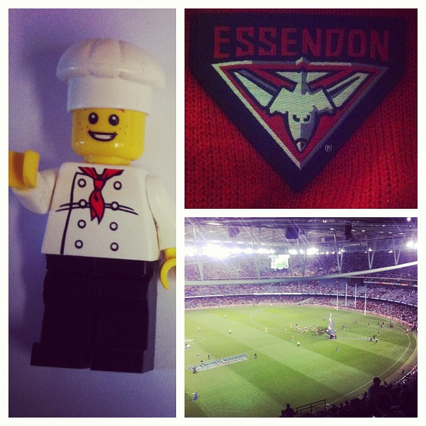 076-Lego Chef's First Footy Game
