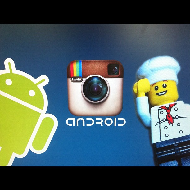079-Lego Chef Welcomes Android to Instagram