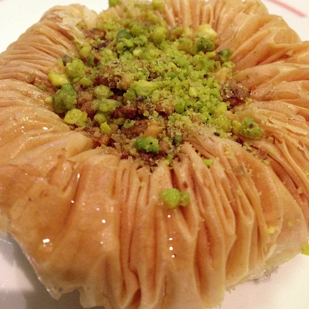 Baklava for dessert